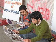 diarios de papel en retirada