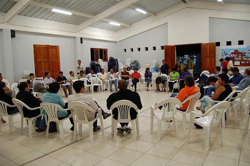 Reunión de AMARC en Perú