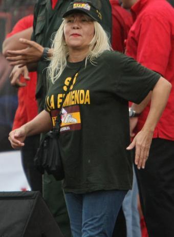 Lina Ron, dirigenta chavista