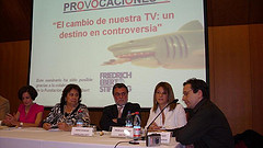 Bruno Bettati interviene en representación de Plataforma Audiovisual