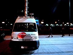 Chilevisión. van