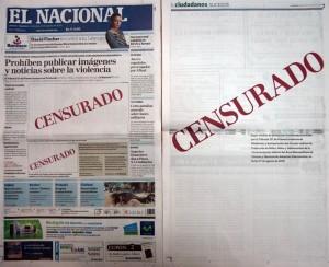 Censura El Nacional
