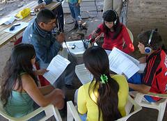 radio comunitaria, jóvenes