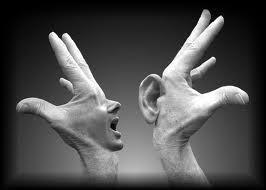 comunicación manos