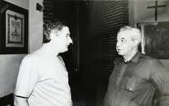 Cristián Precht y monseñor Valech