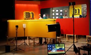 GRABAN LA NUEVA TEMPORADA DE 31 MINUTOS, LA CUAL CONSTA DE 12 CAPITULOS, TRAS 8 AÑOS SIN GRABAR PARA TELEVISION.