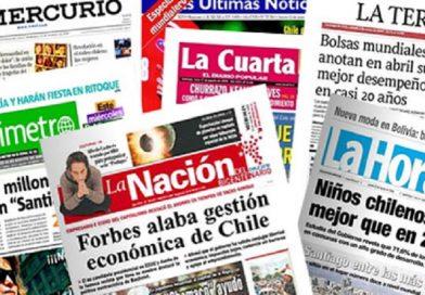 205 años de la prensa en un Chile sin derecho a la información