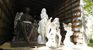 Canal 13 en su noticiario oculta presunto culpable de robos de estatuas en gran escala